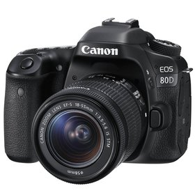 Canon EOS 80D Kit 18-55 mm IS STM (1263C043)
