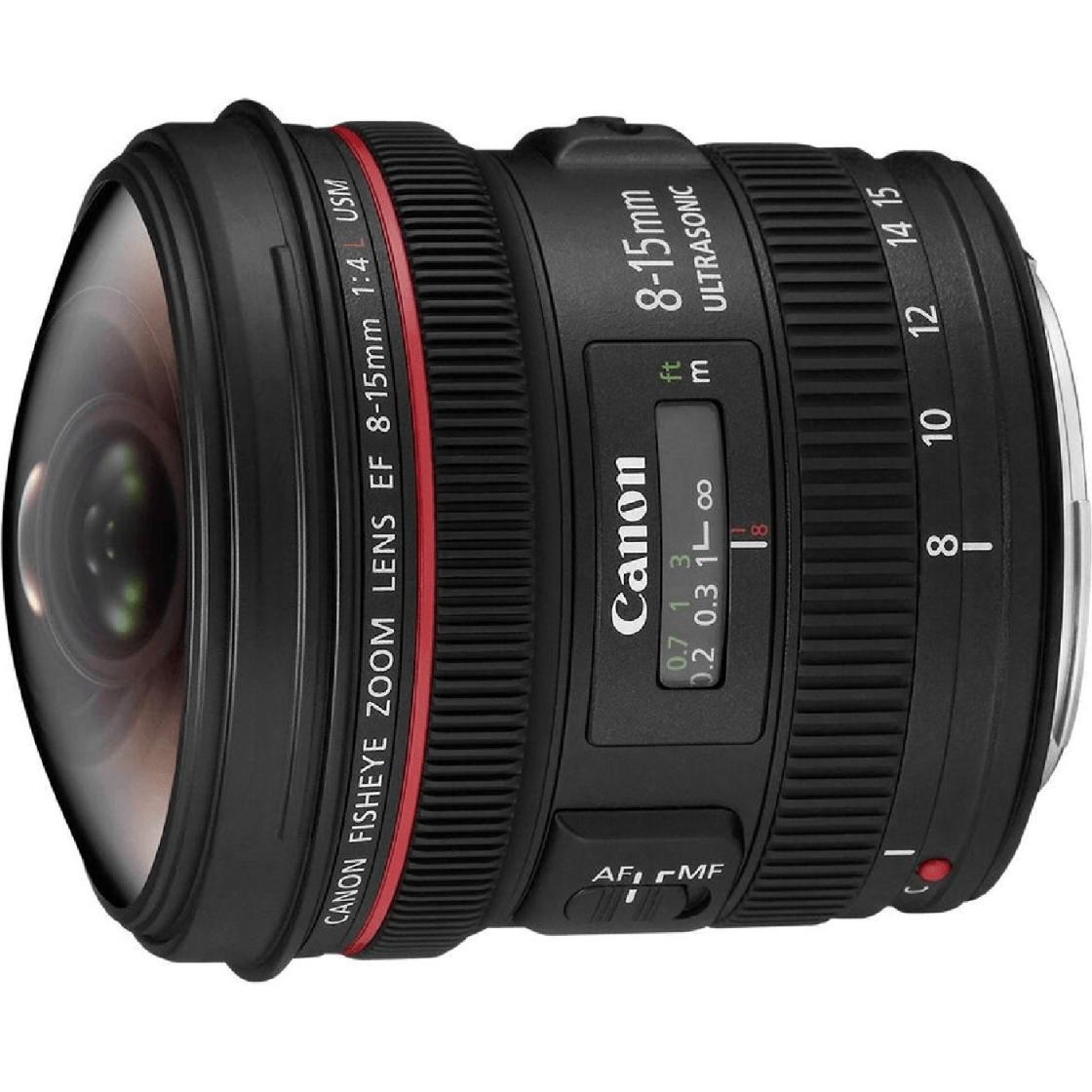 Canon EF 8-15mm f4.0 L USM Fisheye